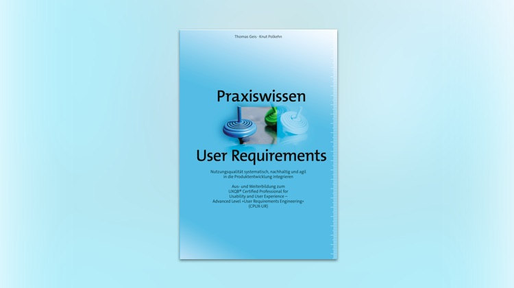 Fachbuch praxiswissen user requirements
